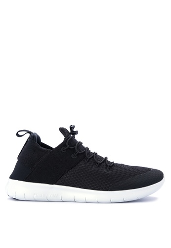 Nike black Men's Nike Free Rn Commuter 2017 Running Shoes NI126SH0KPSCPH_1
