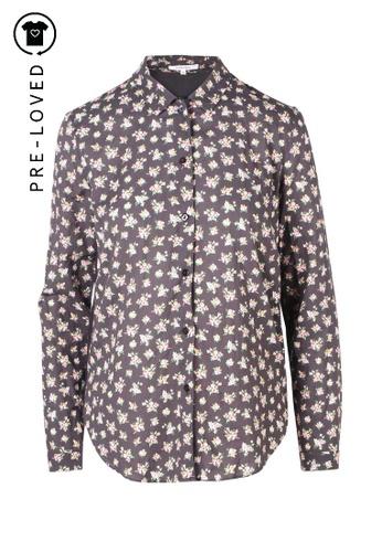 Carven multi Pre-Loved carven Floral Button Down Shirt 4D024AAEAEC030GS_1