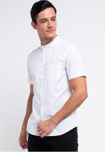 Men's Top white KAZOLA-WHITE Shirt 11E8EAA7422DC4GS_1