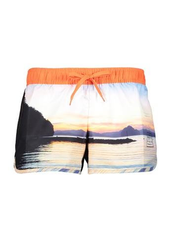 BENCH orange Swim Shorts 318A8USAB055E1GS_1