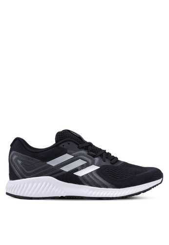 best service 7f15c 5a271 adidas black adidas performance aerobounce 2 sneakers 12A3ESH933ECA1GS1