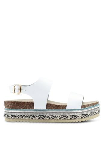 Carvela KG white Kitten Sandals CA459SH0T23UMY_1