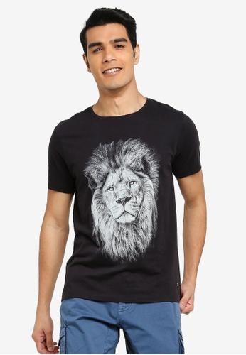 BLEND black Lion T-Shirt 2CDDCAADECC175GS_1