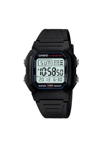 Casio black CASIO GENERAL W-800H-1AVDF UNISEX'S WATCH 60A47ACDF85C86GS_1