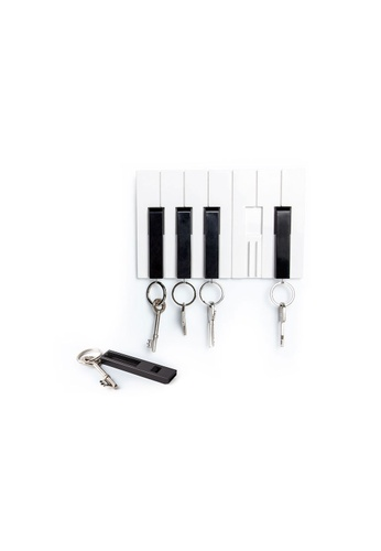 Qualy Qualy Key Piano Key Holder 5C33AHLF006B1EGS_1