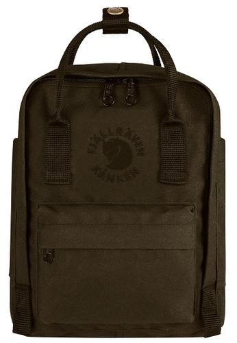 Fjallraven Kanken green Dark Olive Re Kanken Mini Backpack ECBA3AC9A33659GS_1