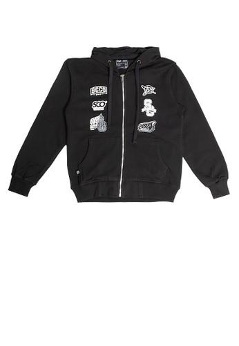 SHARKS black Daily Active Jacket 4C7E5KA7EE7A9BGS_1