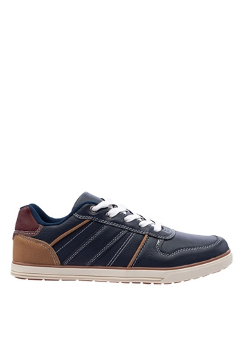 Antton & Co navy Antton & Co Fidra-Lace Up  In Navy 412F3SH7CA9700GS_1