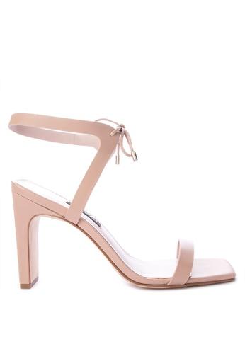 b9b60a5e054 Shop Nine West Longitano Heeled Sandals Online on ZALORA Philippines