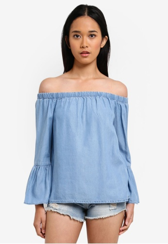 ONLY blue ONLY ONE Sandy Top A1410AA51F8711GS_1