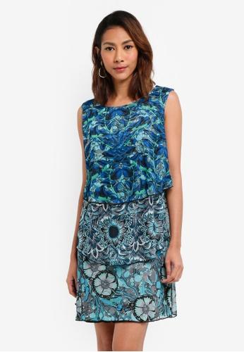 Desigual blue Loco-Motion Dress 2379DAA8A6173DGS_1