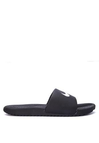 Nike black Men's Nike Kawa Slide Sandals NI126SH0KPRFPH_1