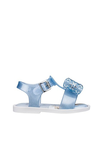 Melissa 多色 [ New Arrival ] Mini Melissa Mar Sandal + Frozen Toddlers Sandals 70E76KSAB0B063GS_1