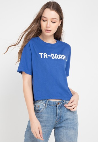 Ninety Degrees blue and multi Tadaa Tee FED2DAA7FCF486GS_1