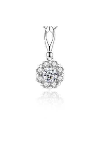 SUNRAIS silver Premium Silver S925 Silver Fashion Necklace C6DB3AC84692F9GS_1