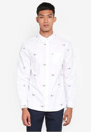 Jack Wills white Bastow Oxford Shirt 434B4AA829FC34GS_1