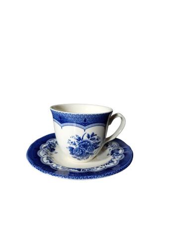 Claytan Victoria Blue - Cup & Saucer A82C1HLEF21707GS_1