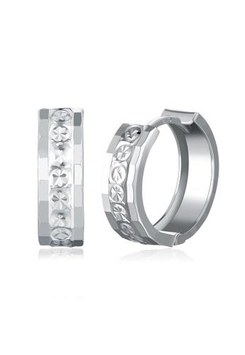 MaBelle silver 14K/585 White Color Gold Gold Earrings 01DE4ACE270BA5GS_1