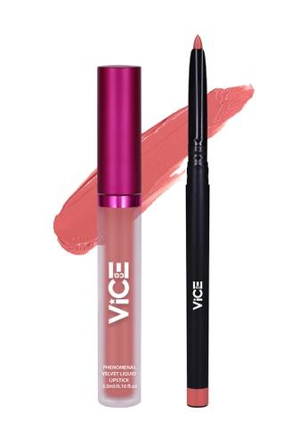 Vice Cosmetics beige Izkeravu Lip Kit B86D7BE6FB11AAGS_1