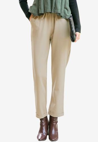 Tokichoi beige Tapered Pants 8D2B3AA1D916D8GS_1