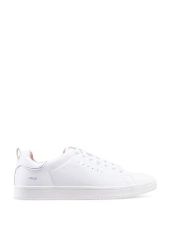 ONLY white Shilo Pu Sneaker 12951SH7D0AA4CGS_1
