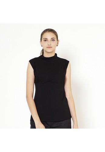 Mamibelle Nursingwear black Mamibelle Katia Black Baju Hamil & Menyusui Inner Spandex Premium E23C4AAAEE4E88GS_1