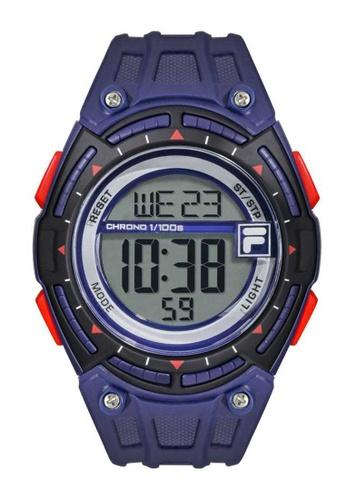 FILA Watches purple Fila Blue Digital Rubber Watch 27D48AC7FCB1F2GS_1