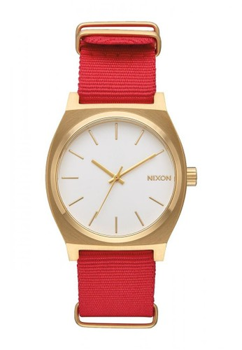 Nixon red TIME TELLER GOLD/WHITE/RED C48AFAC4F11B44GS_1