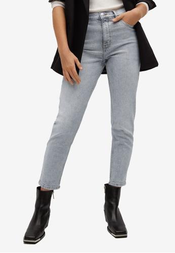 Mango grey Slim-Fit Jeans BB54CAAF1210B4GS_1
