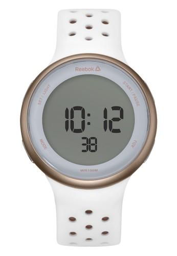 Reebok Watch white Sporty Men's Watches RB RD-ELE-G9-P3IW-W3 B9BC3AC3F69DBFGS_1