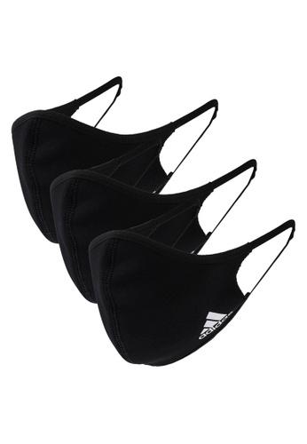 ADIDAS black face covers 3-pack m/l E6CEBAC1E5B899GS_1