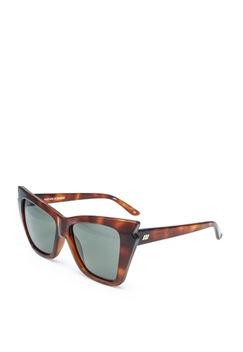 Le Specs red and brown Rapture 2002216 Sunglasses FDDDBGLBF43E35GS_1