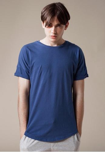 Life8 blue Casual Cooling Cotton Short-Sleeved Tee T-Shirt-03860-Blue LI283AA0FFP4SG_1