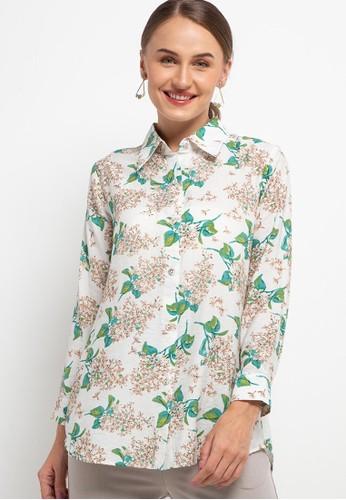 Brilliant Girl white Jasmine Shirt 682D0AA851EF86GS_1