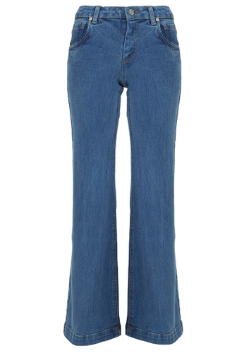 POPLOOK blue COTTON Shekinah Jeans 2.0 96068AADCCC4AEGS_1