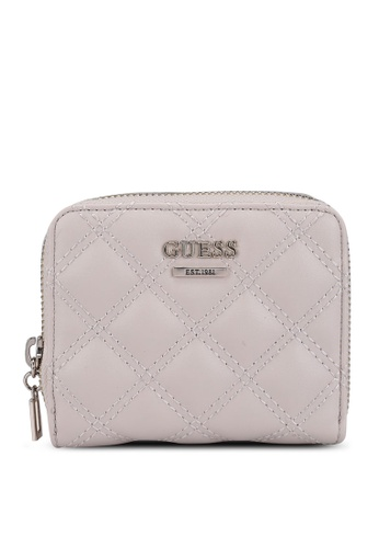 Guess grey Cessily Sling Small Zip Around Wallet DD25CACC258037GS_1
