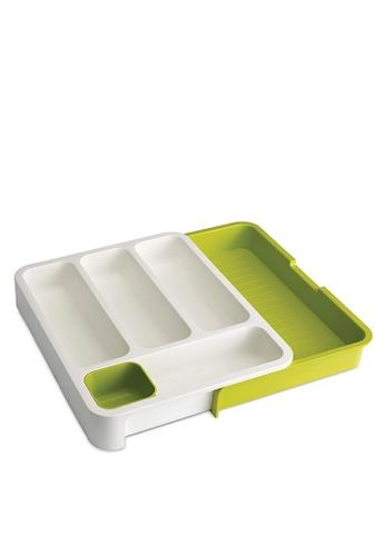 Joseph-Joseph green DrawerStore Cutlery Tray 8EFF0HLAAE6668GS_1