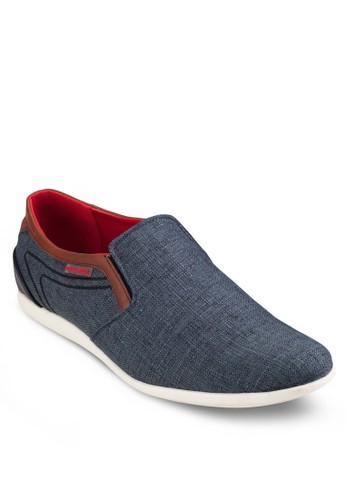 撞色紡織懶人休閒鞋, 鞋esprit分店, 懶人鞋
