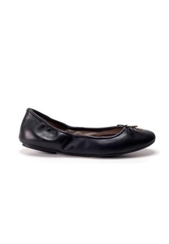 Shu Talk black AMAZTEP New Comfortable Leather Ballerina Ballet Flats DBC47SHAB1BB41GS_1