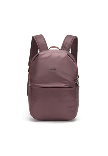 Pacsafe red Pacsafe Cruise Anti-Theft Essentials Backpack (Pinot) AE5A0ACA695168GS_1