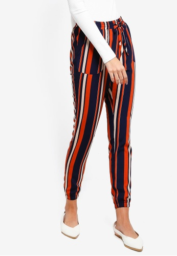 ZALORA multi and navy Casual Joggers F9125AA7D9C33AGS_1
