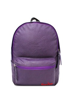 Modish Kanzan High Quality Leather Backpack (Violet)