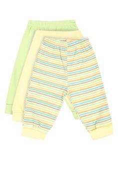 Luvable Friends 3 Pants Stripes