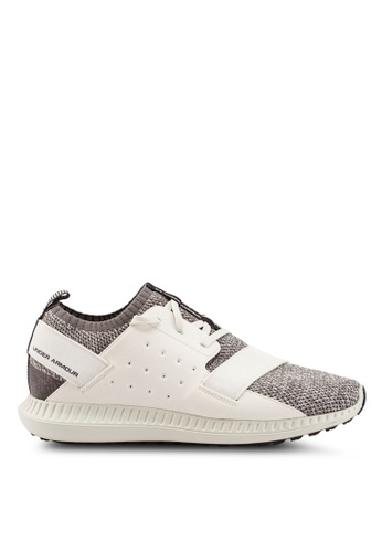 Under Armour grey UA Threadborne Shift 2 Shoes 43A9ASH2E9EB1FGS_1