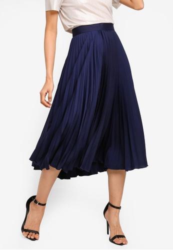 276912220f Shop CLOSET Closet Pleated Skirt Online on ZALORA Philippines