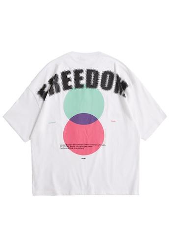 Twenty Eight Shoes Trend Printed Short T-shirt 5145S21 AE39EAA43E2B44GS_1