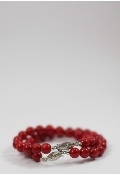 Ralub Red Coral Bracelet