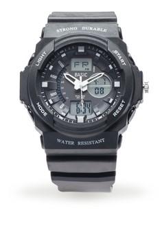 Basic Analog/Digital Watch
