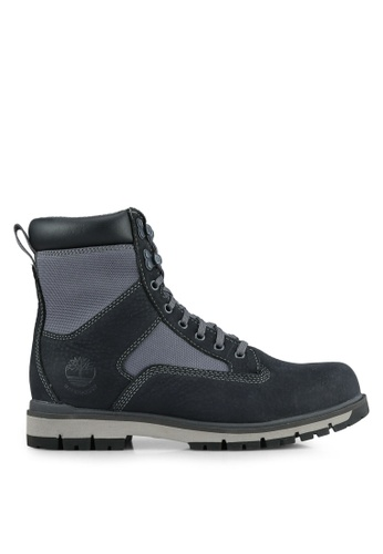 Timberland grey Radford 7 Inch Waterproof Leather And Fabric Boots TI063SH0S69HMY_1