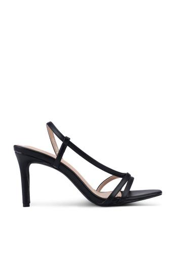 nose black Strappy Heel Sandals 6D973SH49904FFGS_1